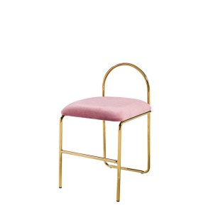 N Ring Gold Chair(N 링 골드 체어)