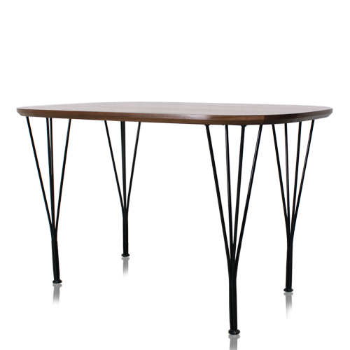 Edge Rounded Top Table(엣지 라운디드 탑 테이블)